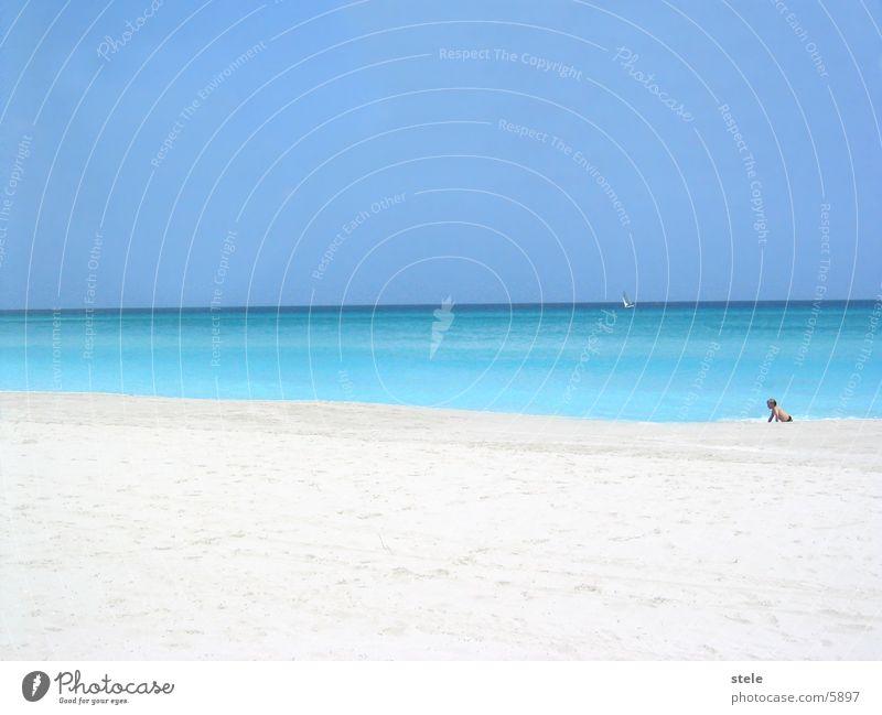 Kuba Strand II Meer Strand Ferien & Urlaub & Reisen Sand Kuba