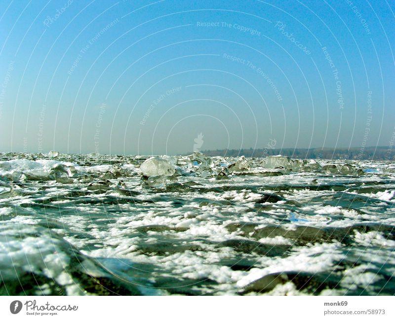 Eiszeit Wasser Winter kalt See
