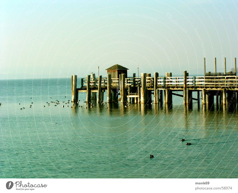 Ammersee Wasser Winter See Idylle Ammersee