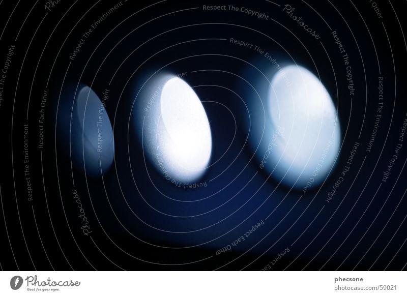 oOO blau dunkel Kreis rund Fotokamera Statue Loch Leuchtdiode Gehäuse