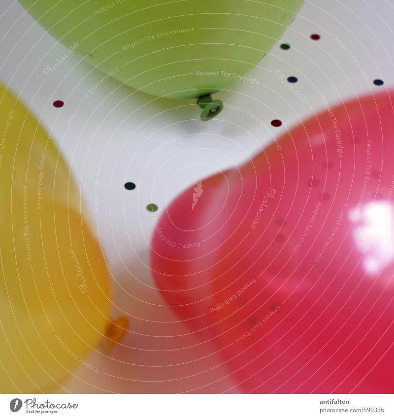 Erstes 2014 | Party on! grün rot Freude gelb Glück Feste & Feiern Party Stimmung Tanzen Dekoration & Verzierung Geburtstag Fröhlichkeit Beginn fantastisch rund Lebensfreude