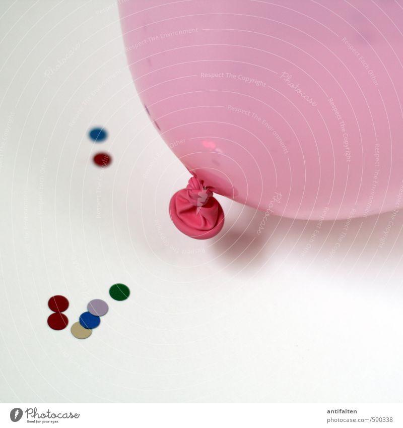 Zweites 2014 | Party on II Freude Leben Feste & Feiern liegen rosa Dekoration & Verzierung Geburtstag Fröhlichkeit fantastisch rund Papier Lebensfreude