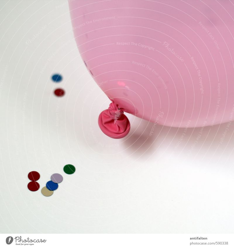 Zweites 2014 | Party on II Freude Leben Feste & Feiern liegen Party rosa Dekoration & Verzierung Geburtstag Fröhlichkeit fantastisch rund Papier Lebensfreude Luftballon Hochzeit Silvester u. Neujahr
