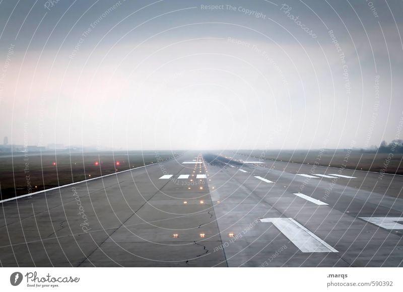Pole Position Himmel Ferien & Urlaub & Reisen Wolken Freude Ferne 1 Horizont Verkehr Schilder & Markierungen Tourismus Luftverkehr Beginn Zukunft