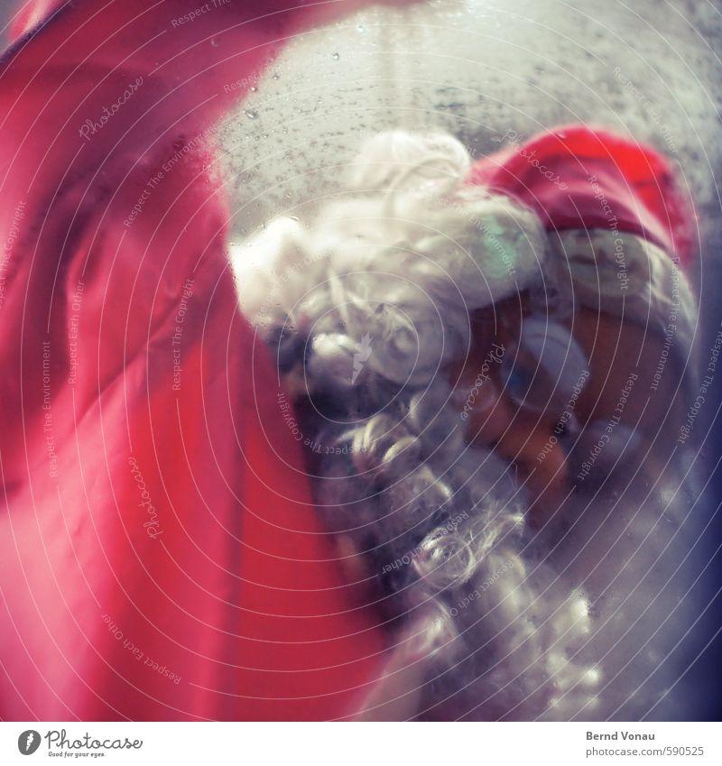 ausgedient 1 Mensch 0-12 Monate Baby blau grau rot weiß Weihnachtsmann Weihnachten & Advent Weihnachtsdekoration Weihnachtsmarkt Puppe Dekoration & Verzierung