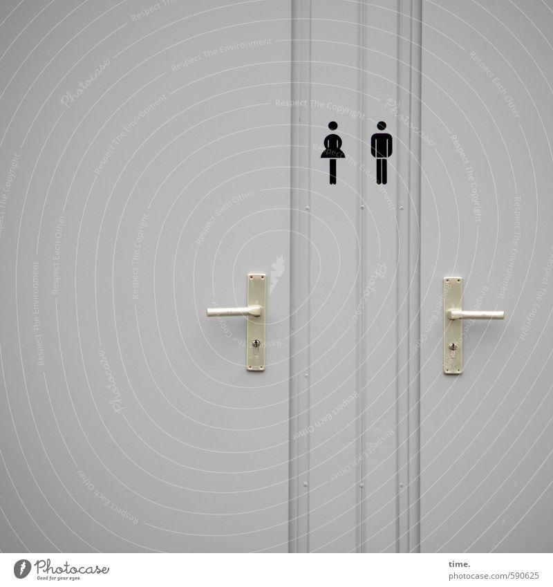 Entfaltungsmöglichkeiten | feel free Mensch Frau Mann Stadt Erwachsene feminin Wege & Pfade Zeit Linie Gesundheitswesen maskulin Ordnung Tür Design