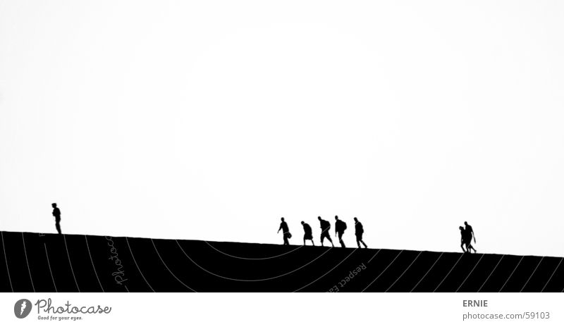 Männekens weiß Ferien & Urlaub & Reisen schwarz Sand Stranddüne Chile San Pedro de Atacama