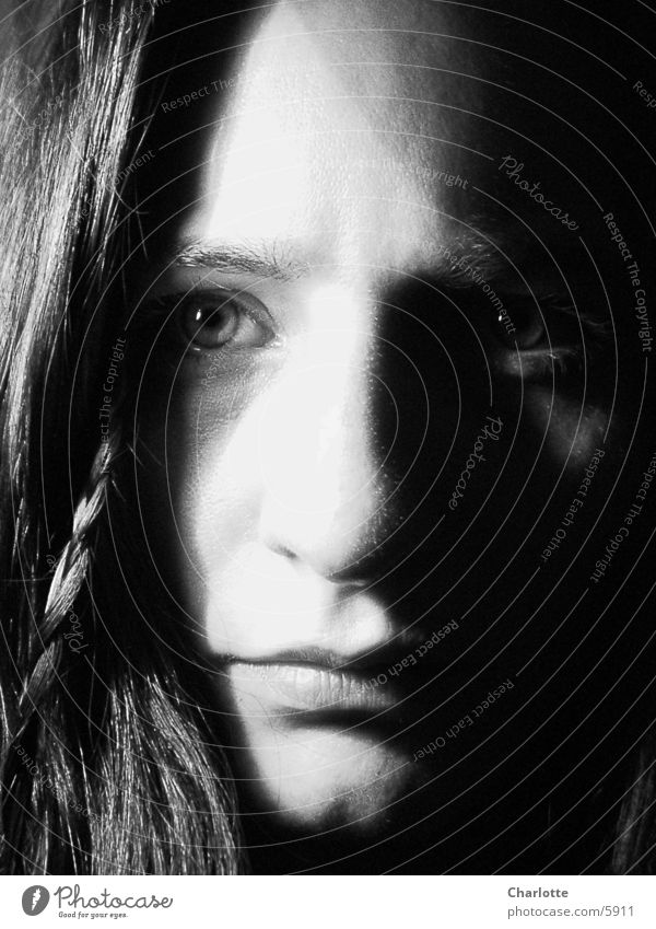 Portrait II Frau Auge Gesicht