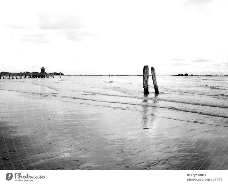 Bella Italia Meer Strand Leuchtturm Italien Ebbe Lignano