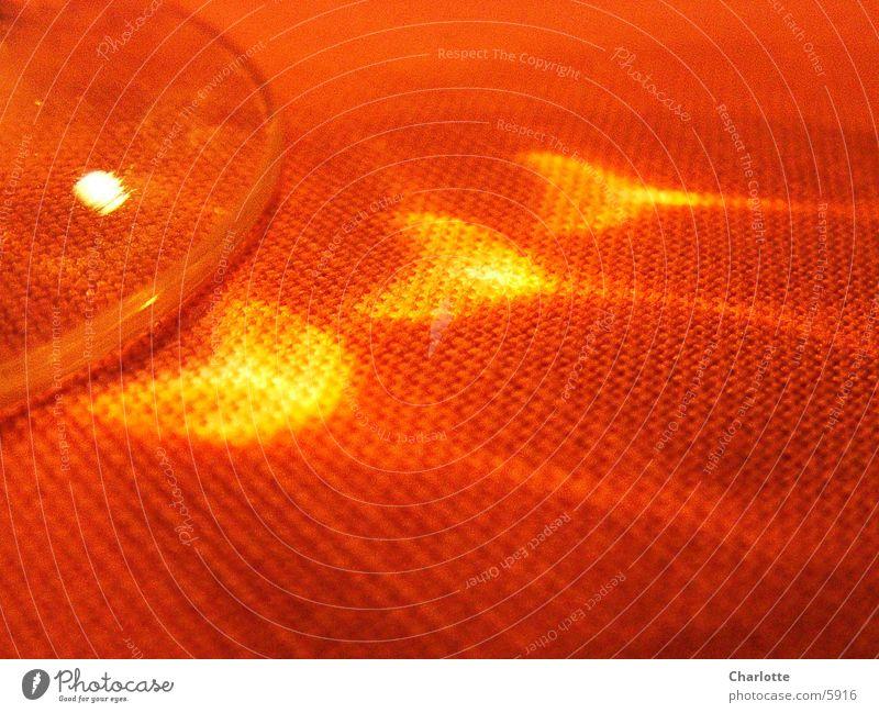 Flammen rot Fototechnik Makroaufnahme Reflexion & Spiegelung Glas Tischwäsche