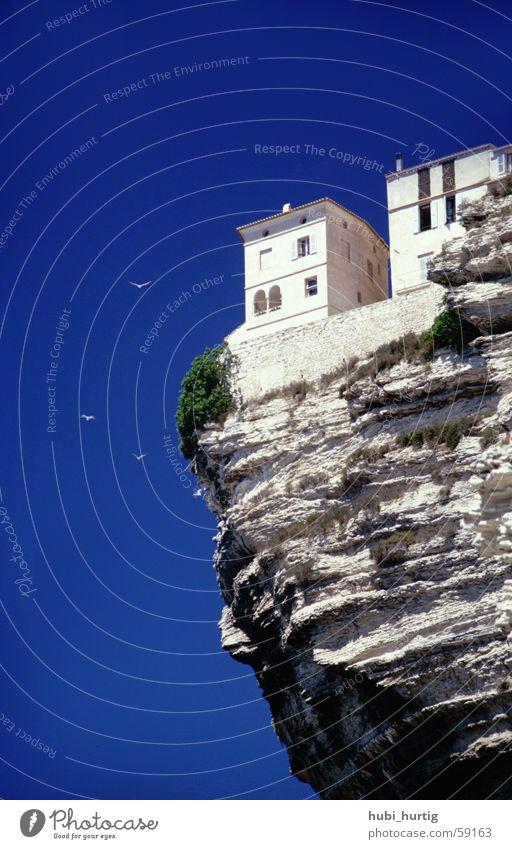 Bonifatio Korsika Meer Ferien & Urlaub & Reisen Insel Sonne Blauer Himmel