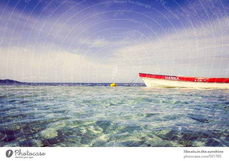 fiji gefällt nicht nur der HANNA. Himmel Natur Ferien & Urlaub & Reisen Wasser Sommer Sonne Meer Erholung Landschaft Strand Ferne Umwelt Küste Freiheit See