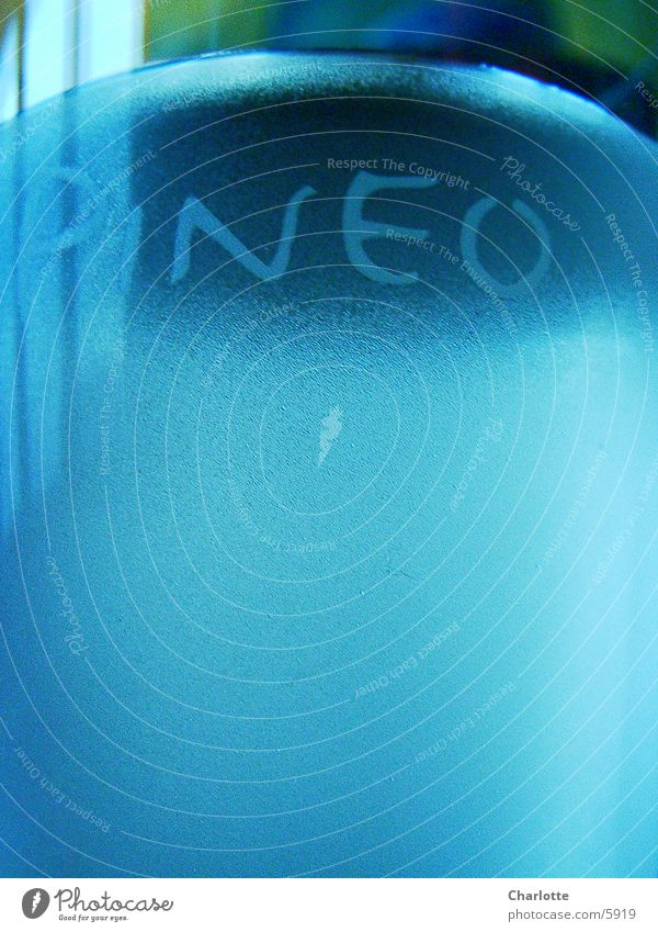 Pineo 2 Wasserglas Fototechnik blau