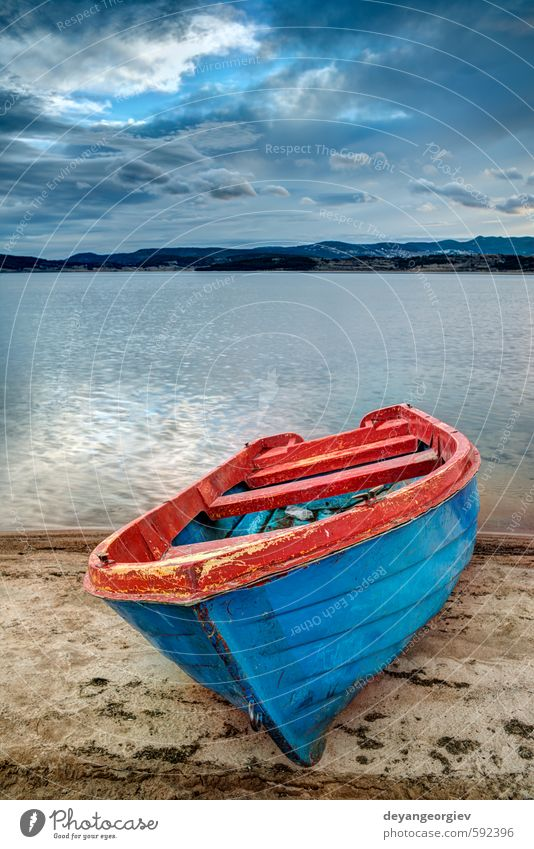 Himmel Natur Ferien & Urlaub & Reisen blau schön grün Farbe Sommer Landschaft Wolken Wald Berge u. Gebirge Herbst See Wasserfahrzeug Park