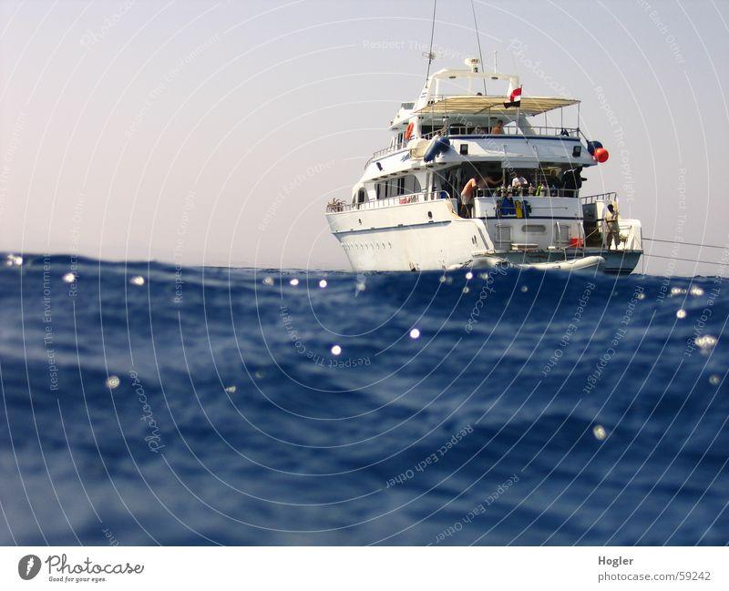 Abgetrieben Meer Ferien & Urlaub & Reisen Wasserfahrzeug tauchen Safari Ägypten