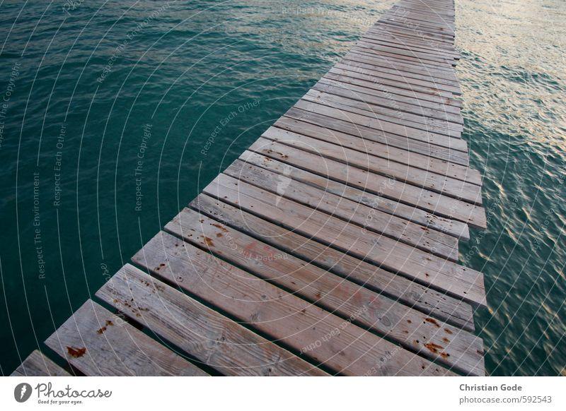 Auslaufmodell Natur blau grün Wasser Sommer Meer Landschaft Strand Umwelt Wege & Pfade Küste See Wasserfahrzeug Linie braun Wetter