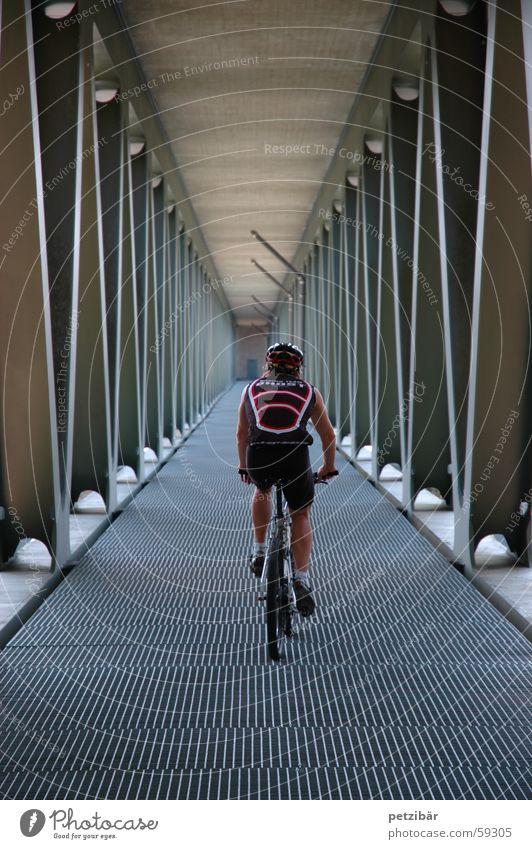 Unter der Brücke Mountainbike Fahrrad Sport
