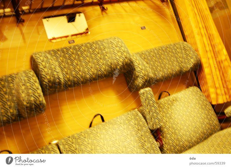 ÖBB-Style #2 alt Ferien & Urlaub & Reisen Glas Eisenbahn sitzen Spiegel Sitzgelegenheit Passagier Stuhllehne Ablage Polster Zugabteil Kopfstütze Gepäckablage