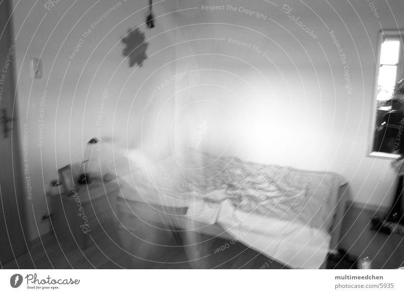 ghostjump Lampe springen Raum Bett Geister u. Gespenster Decke Fototechnik