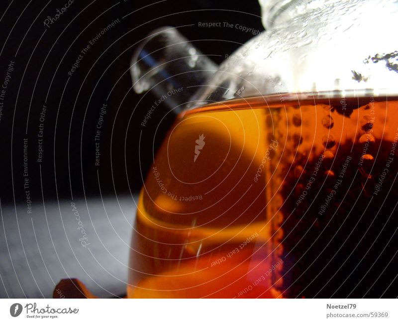 Teezeit Glas Kannen Teekanne Jenaer Glas Schwarzer Tee