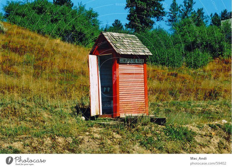 Feuerwehrhaus Haus Brand Toilette Schutz Brandschutz Idaho