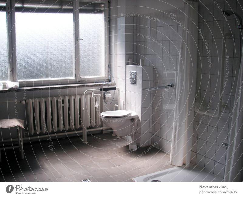 Loo Bad Toilette Dusche (Installation) fließen Herberge