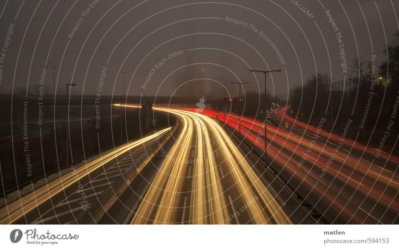 gespurt Stadt Hauptstadt Menschenleer Mauer Wand Verkehr Verkehrswege Berufsverkehr Autofahren Straße Autobahn Hochstraße Tunnel Brücke Verkehrszeichen