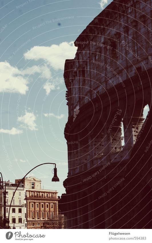 COOLosseum Ferien & Urlaub & Reisen Tourismus Ausflug Abenteuer Ferne Freiheit Sightseeing Städtereise Hauptstadt Stadtzentrum Altstadt überbevölkert
