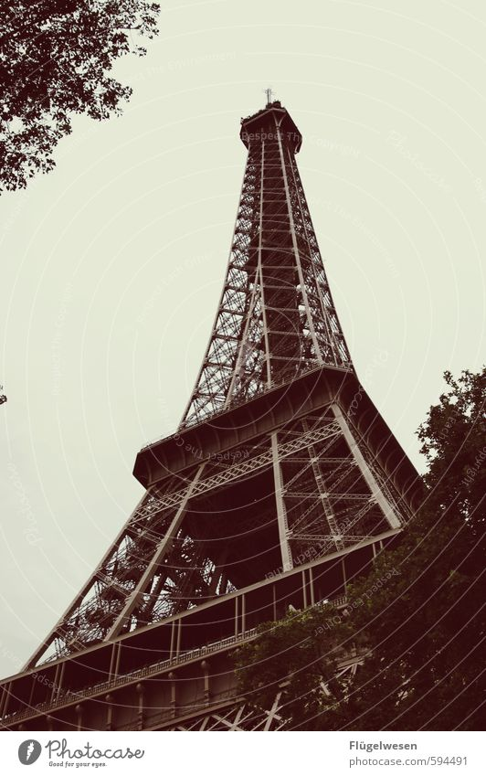 Paris du bist so wunderbar Ferien & Urlaub & Reisen Tourismus Ausflug Abenteuer Ferne Freiheit Sightseeing Städtereise Hauptstadt Stadtzentrum Stadtrand