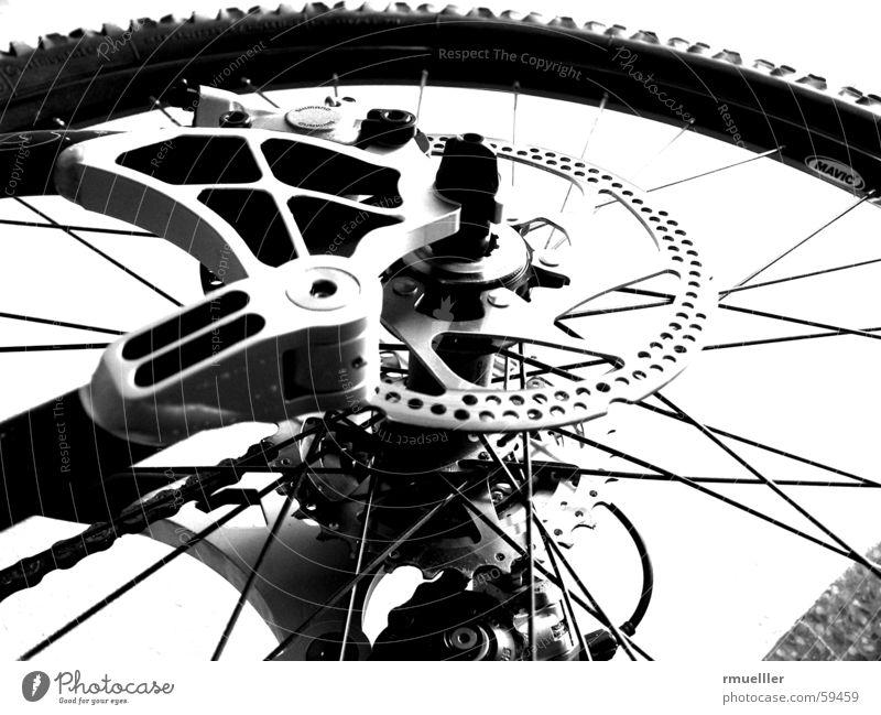 Stevens Bike Fahrrad Mountainbike Schwarzweißfoto Bremse Gangschaltung Speichen Freiheit fahren biken free-ride cross scheibenbremse downhill trail