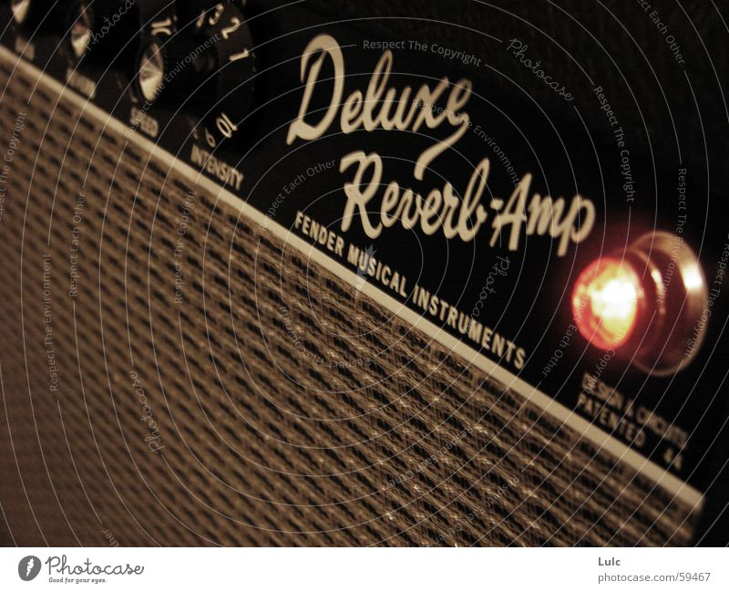 Deluxe Reverb Amp Musik