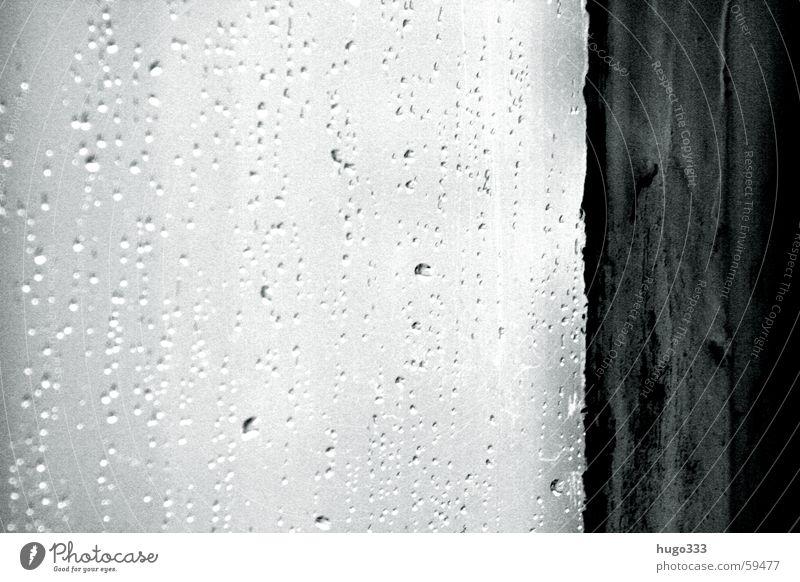 Aprilwetter Wasser Fenster Regen Raum Wetter Wassertropfen Fensterscheibe Rahmen unklar Reinigen Fensterputzen