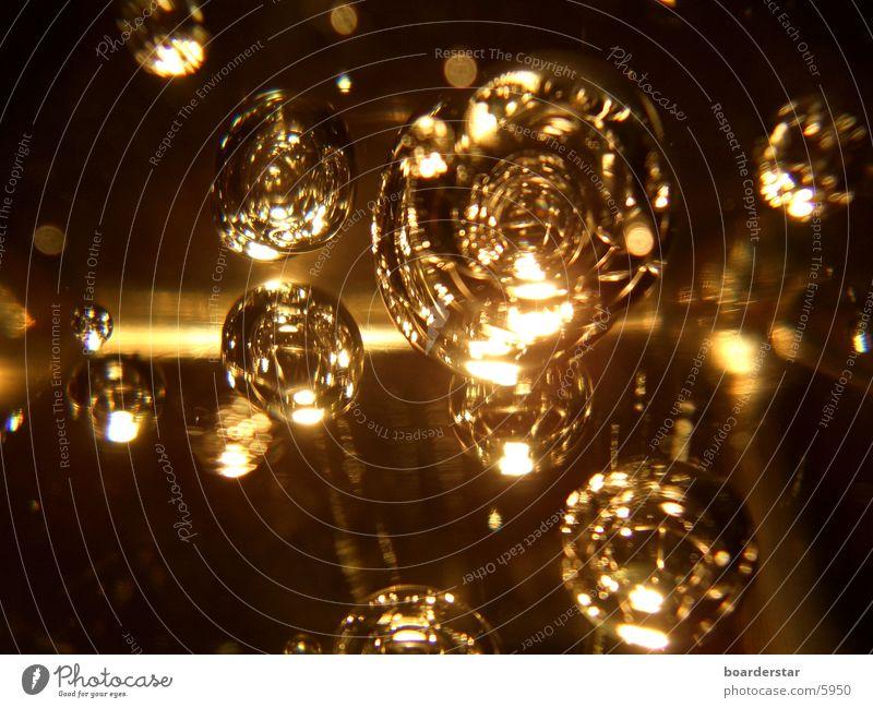 Glasblasen Lampe Glaskugel Licht Häusliches Leben Beleuchtung Halogen Reaktionen u. Effekte