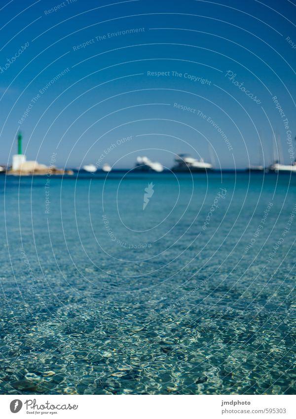 Ich steh im Meer und mache Fotos Ferien & Urlaub & Reisen Sommer Sonne Erholung Ferne Freiheit Schwimmen & Baden Erde Horizont träumen Wellen Tourismus