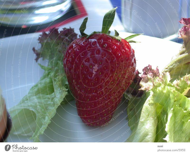 Breakfast Ernährung Frucht Erdbeeren