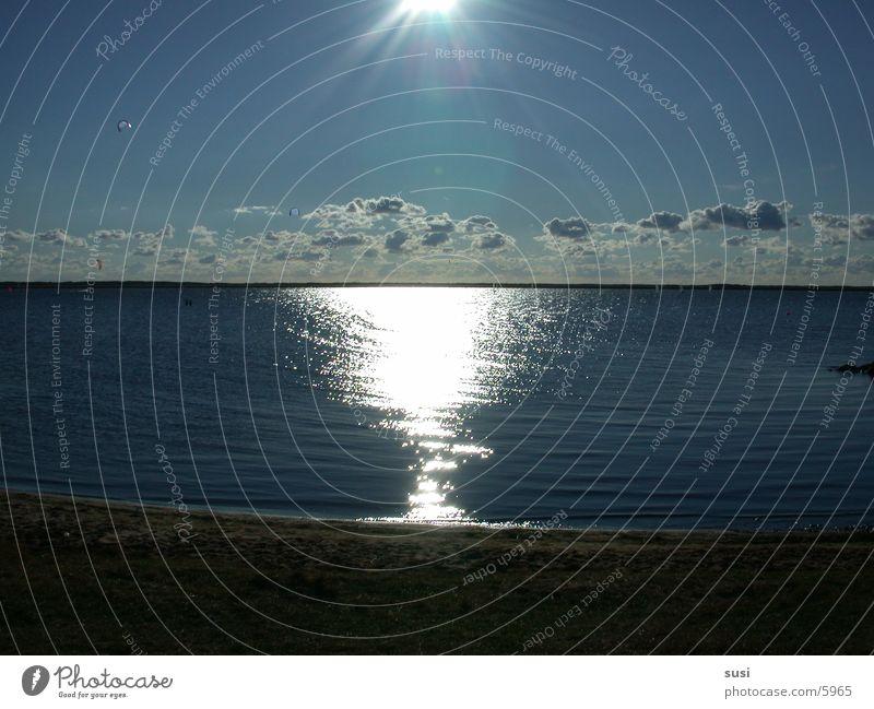 sonnenuntergang Sonnenuntergang Ferien & Urlaub & Reisen Romantik Fjord Dänemark Wasser