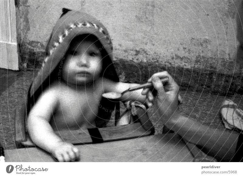 brei Baby Gesundheit füttern Löffel