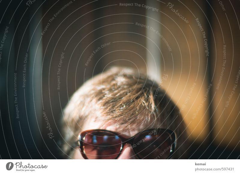 Optik Lifestyle Stil Mensch feminin Frau Erwachsene Leben Haare & Frisuren Auge 1 30-45 Jahre Brille Sonnenbrille brünett kurzhaarig leuchten Blick