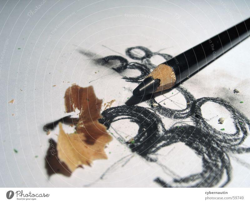 38 Ziffern & Zahlen Entwurf Bleistift Papier skribble radieren zeichnen anspitzen