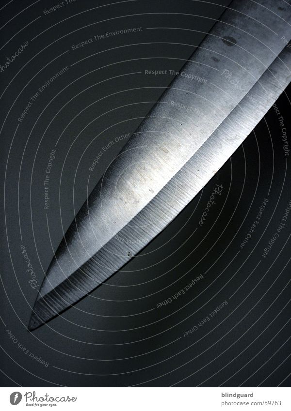 Psycho 2 - He's Back dunkel Angst verrückt Küche Spitze gruselig Stahl Verbote Gesetze und Verordnungen Panik Haushalt Messer Seele geschnitten Waffe Mord