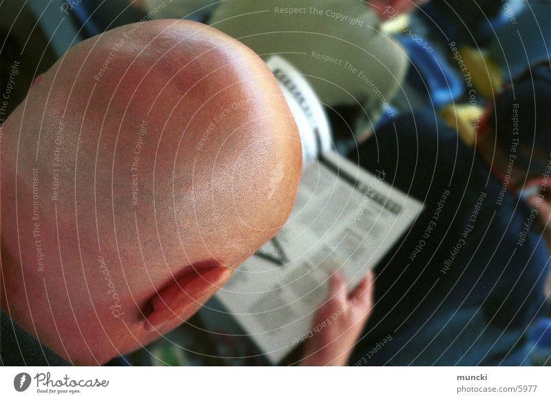 Meister Propper LEBT !!! Glatze Hinterkopf Scheitel Haare & Frisuren Mensch breit