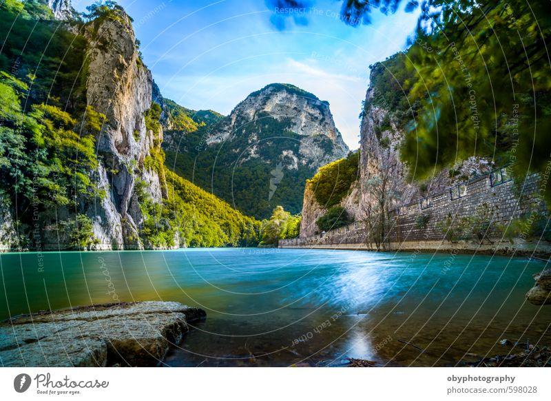 Verstecktes Paradies Natur Landschaft Wasser Park Berge u. Gebirge träumen Canon EOS 6D Marche Zeiss 21mm f/2.8 Distagon T* ZE ancona Fano gola del furlo