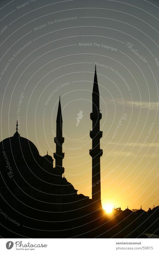 kurz vor 1001 Nacht Stadt Religion & Glaube Türkei Islam Istanbul Moschee