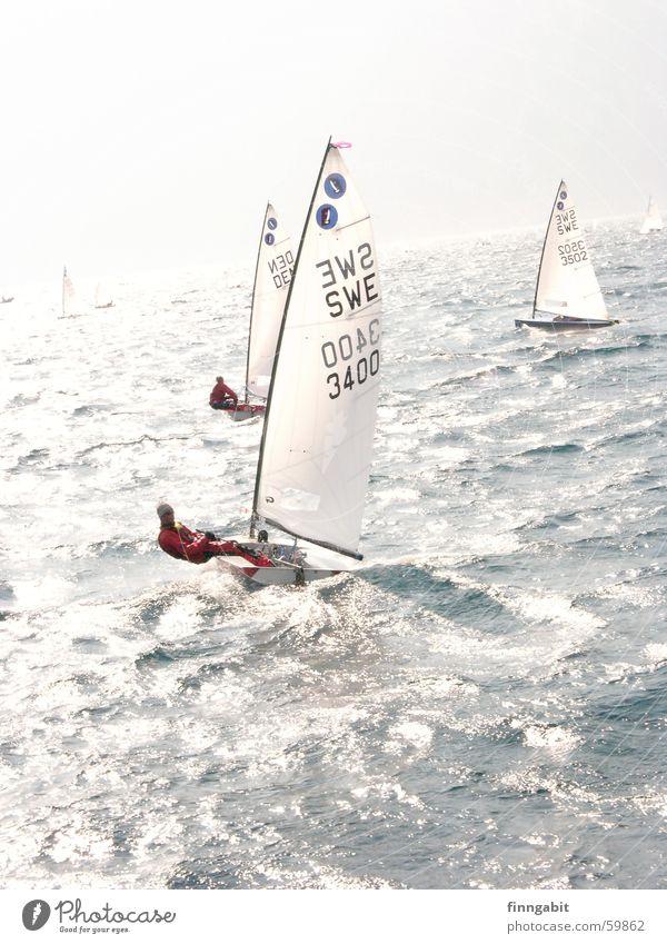 Lago di Garda Segeln Segelboot See Gardasee Wasser