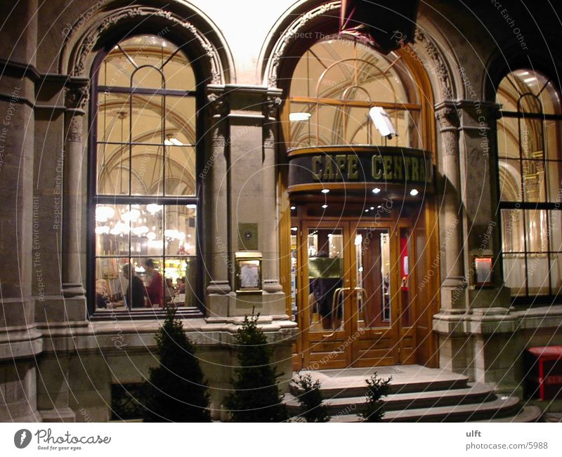 Cafe Central Wien Architektur Café Wien Herrengasse