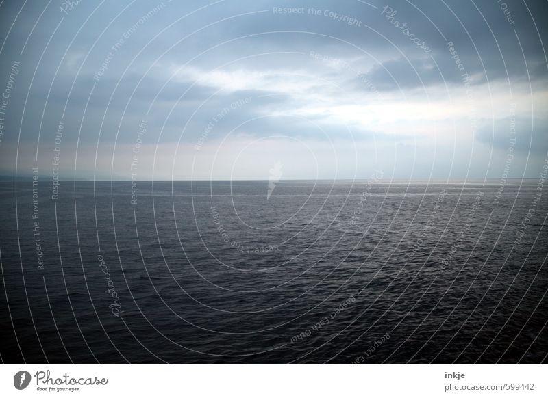 Du suchst das Meer Himmel Natur Ferien & Urlaub & Reisen blau Wasser Landschaft Wolken Ferne Umwelt Horizont Stimmung Luft groß Klima Schönes Wetter