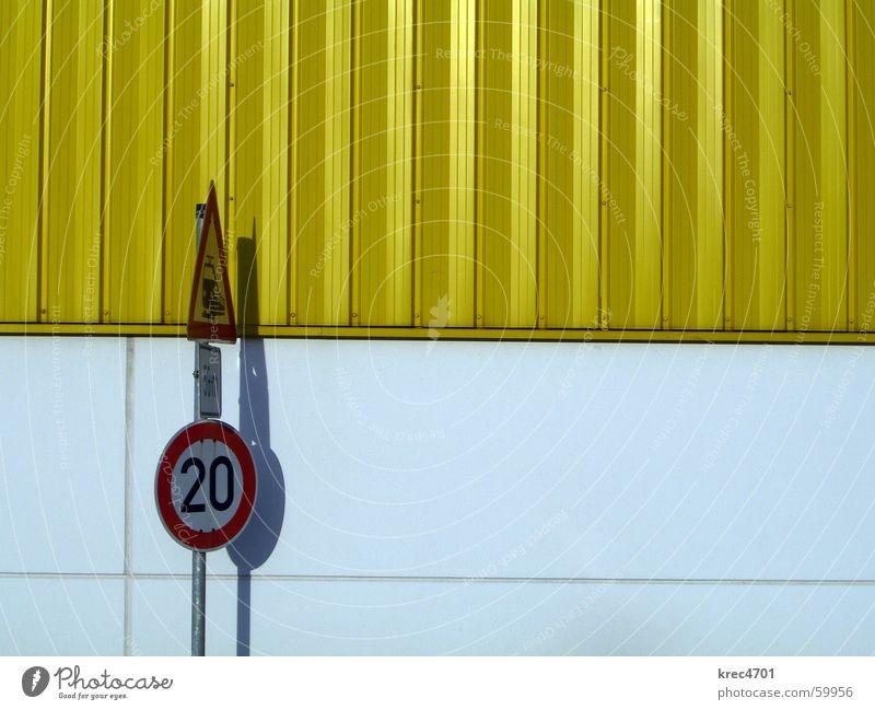 Kontrast Schilder I weiß rot gelb Schilder & Markierungen Lagerhalle Verbote Vorsicht Verkehrsschild Bahnübergang Verbotsschild Gebotsschild