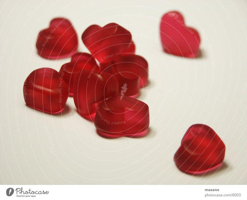 Iloveyou rot Liebe Herz Valentinstag Süßwaren Weingummi