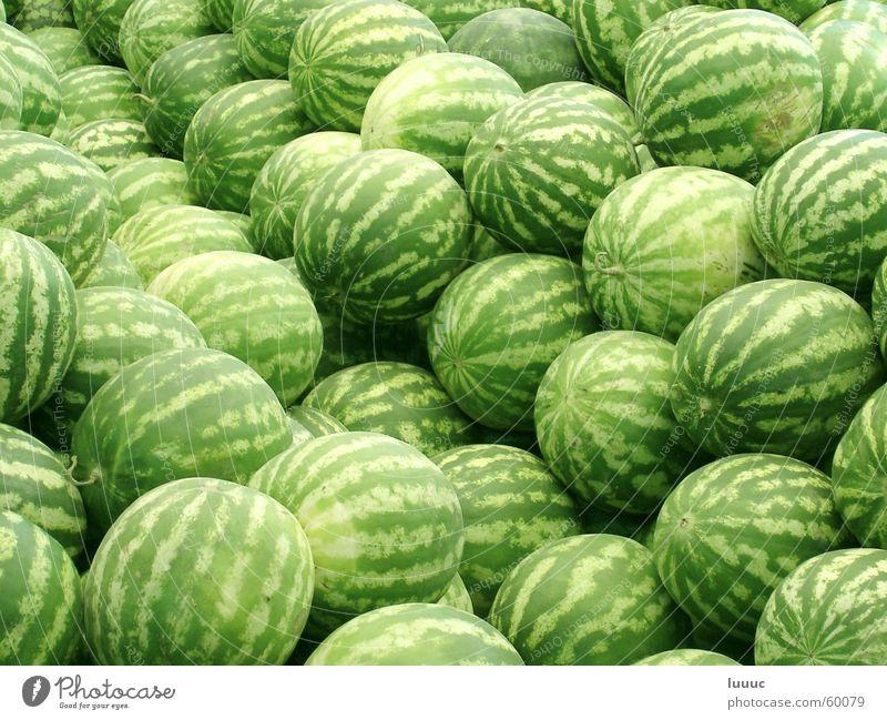 sommer ahoi... Wasser Sommer Frucht süß Asien Ernte Markt Erfrischung Wassermelone Tadschikistan Duschanbe
