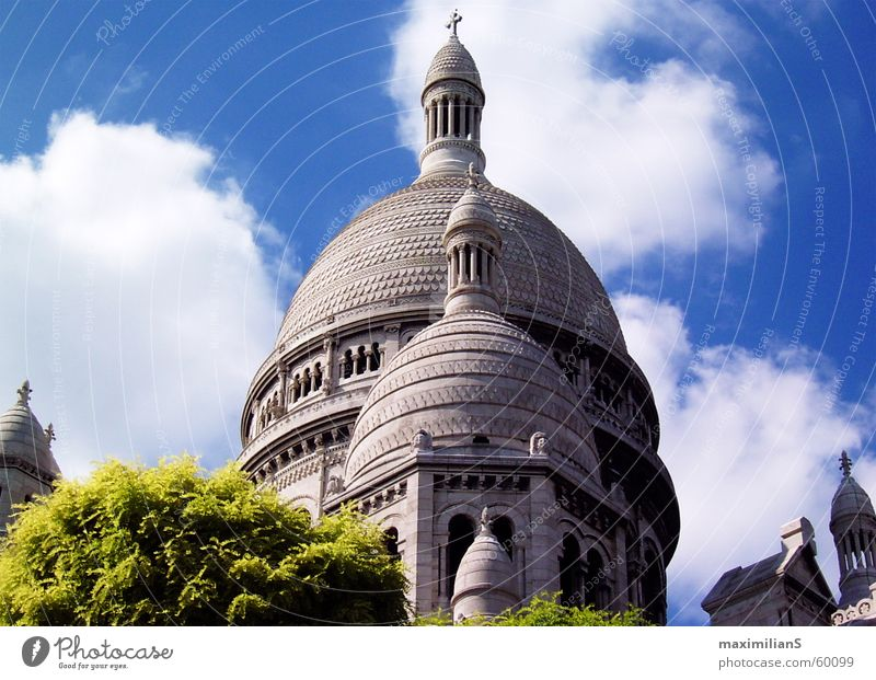 Sacré Coeur Bauwerk Paris Sacré-Coeur Natur